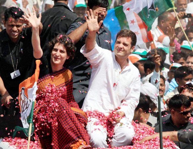 Rahul Gandhi and Priyanka Vadra
