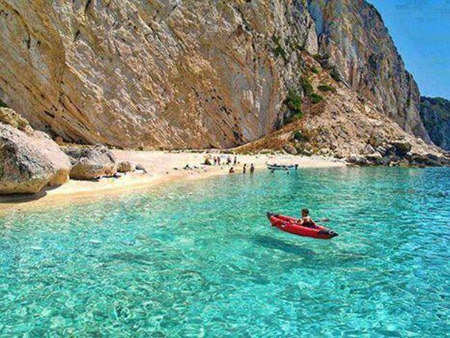 Othonoi Island, Greece.