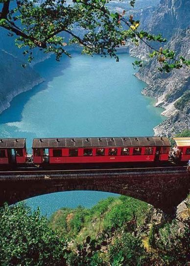 Mountain Railway, Grenoble, France.