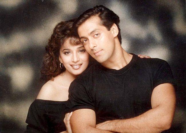 Madhuri Dixit, Salman Khan