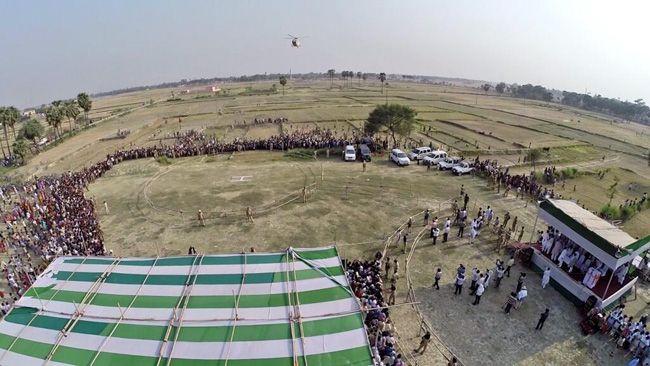 Nitish Kumar's rally