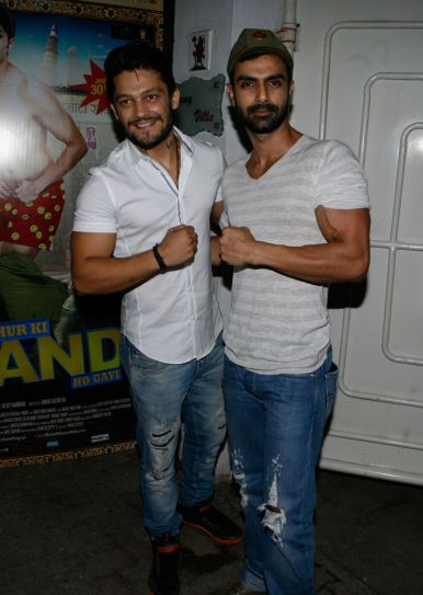 Sidharth Bhardwaj and Ashmit Patel