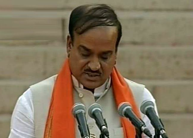 H N Ananth Kumar, Team Modi oath ceremony
