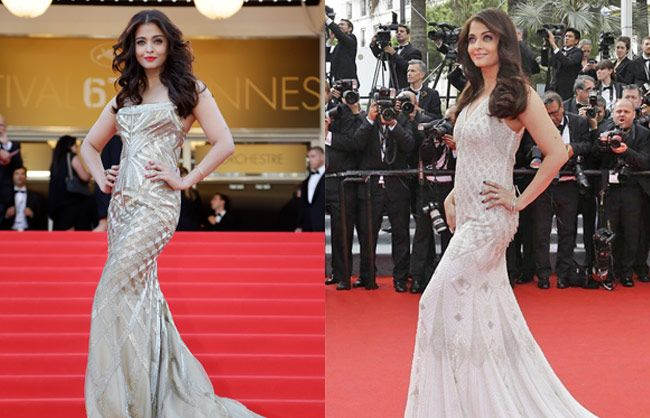 outlet store c2167 6d832 Cannes 2014: Aishwarya Rai looks stunning in Roberto Cavalli ...