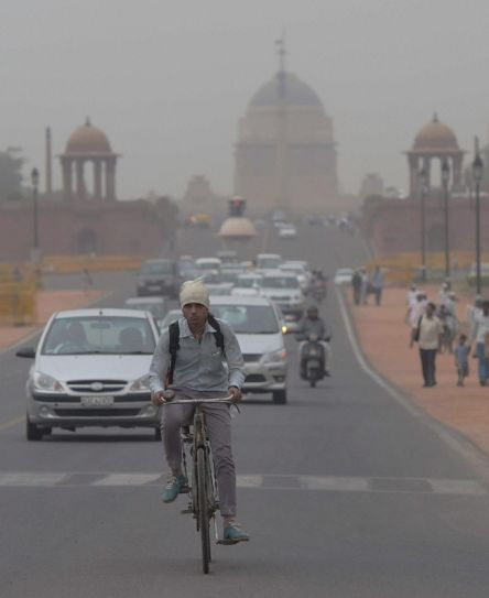 Dust storm in Delhi-NCR