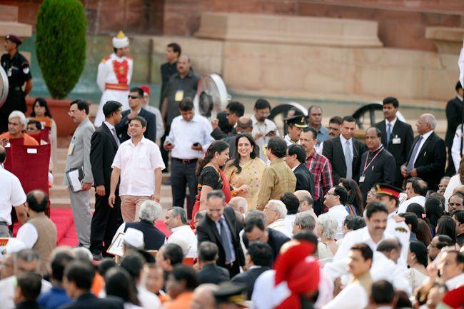 Narendra Modi swearing-in, Rashtrapati Bhavan