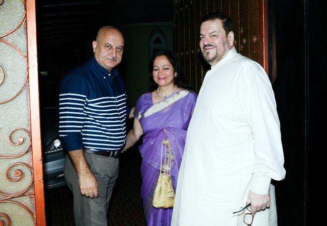 Anupam Kher, Nitin Mukesh, Nishi