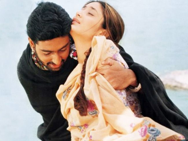 Kareena Kapoor and Abhishek Bachchan