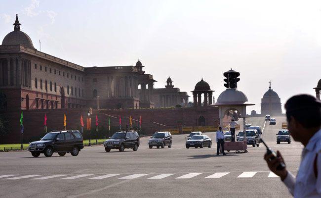 Delhi Traffic Police, Modi swearing-in