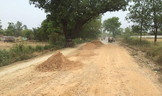 State highway Amethi to Azamgarh.