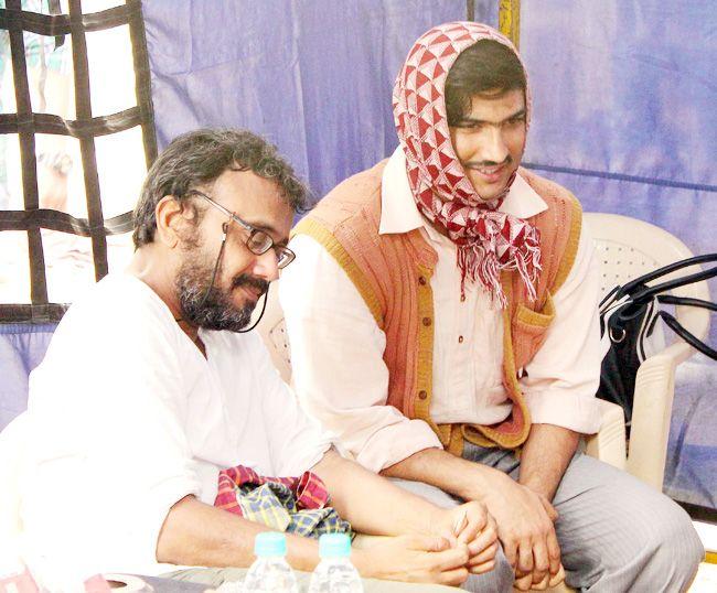 Dibakar Bannerjee and Sushant Singh Rajput