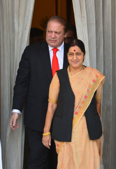 Nawaz Sharif, Sushma Swaraj