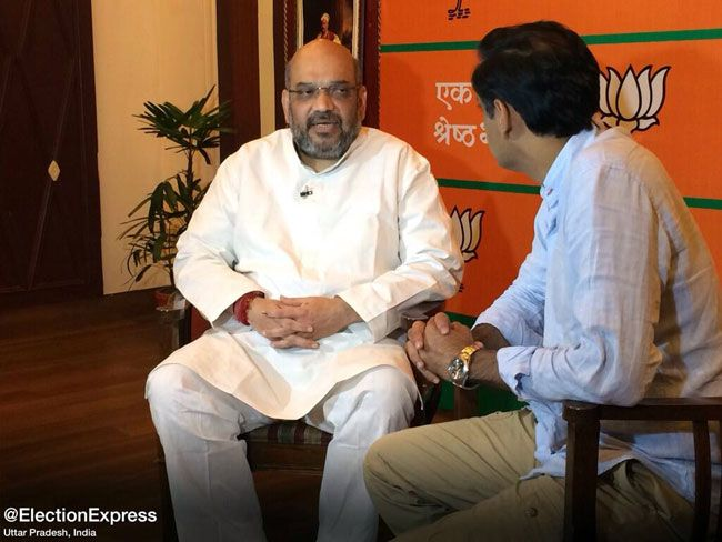 Election Express, Amit Shaha