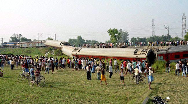 Train derails in Bihar