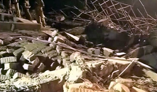 Building collapses in Chennai, Moulivakkam, Porur area, Construction workers