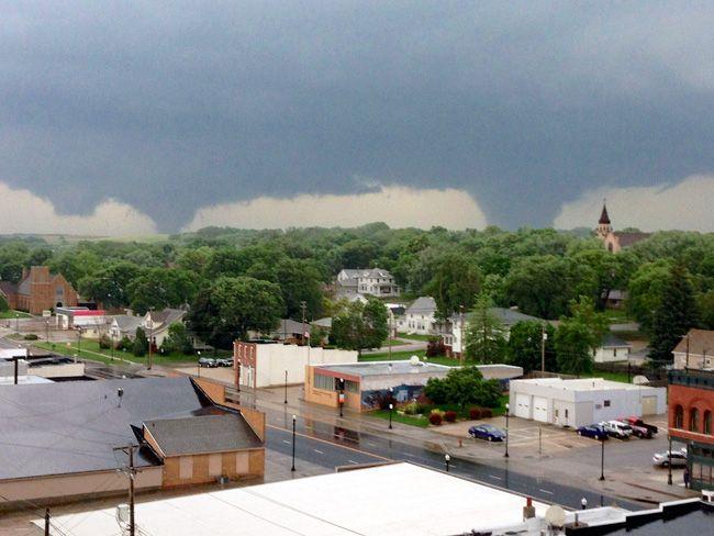 Dual tornadoes