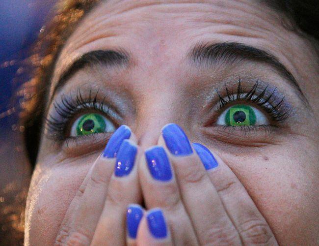 Brazil fans devastated