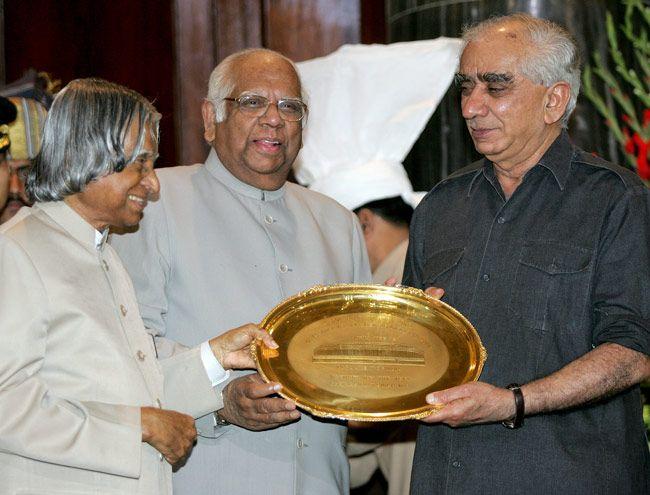 Jaswant Singh with APJ Abdul Kalam