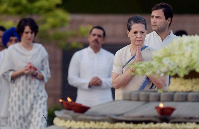 The Gandhi family