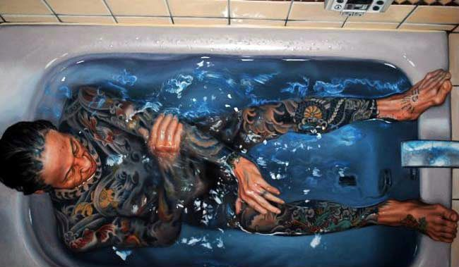 Underwater Painting by Gustavo Silva Nunez