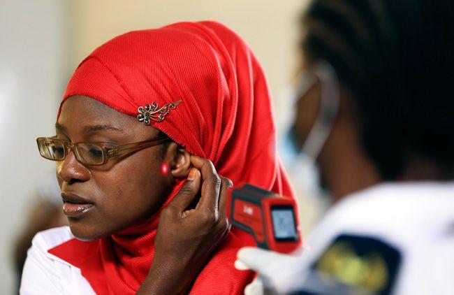 A Nigerian woman.