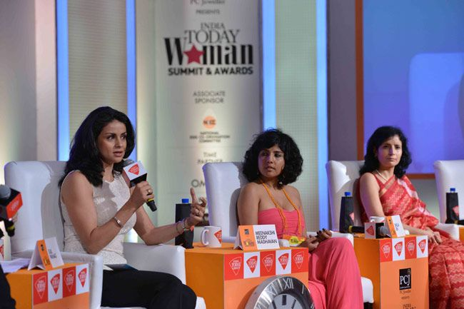 Gul Panag, Shelja Sen and Meenakshi Reddy Madhavan