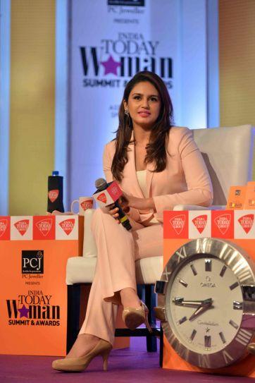 Huma Qureshi, India Today Woman Summit 2014