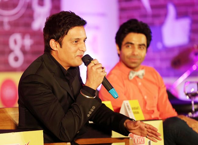 Actor Jimmy Shergill speaks at India Today Mind Rocks Chandigarh 2014.