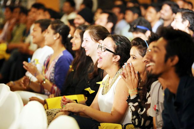Audience at the India Today Mind Rocks Chandigarh 2014.