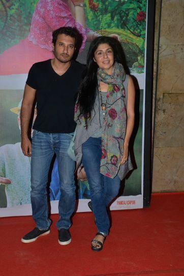 Homi Adajania and Anaita Shroff Adajania