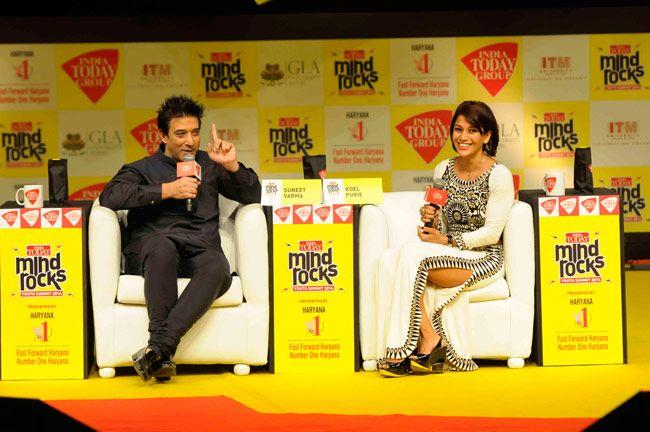Mind Rocks Youth Summit 2014, Suneet Varma, Koel Purie Rinchet