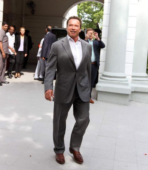 Arnold Schwarzenegger in Chennai