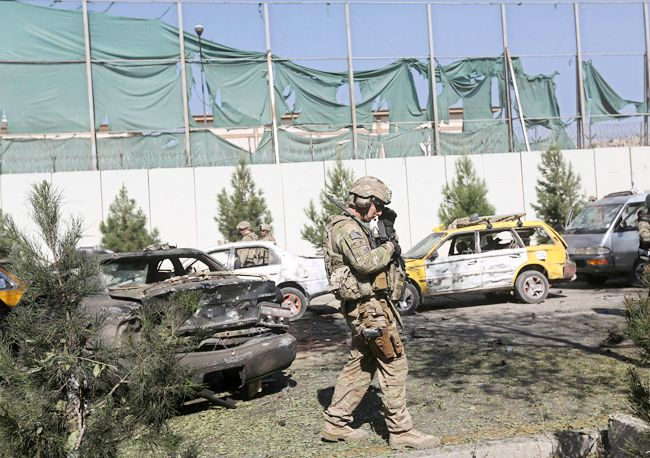 Suicide attack at US embassy