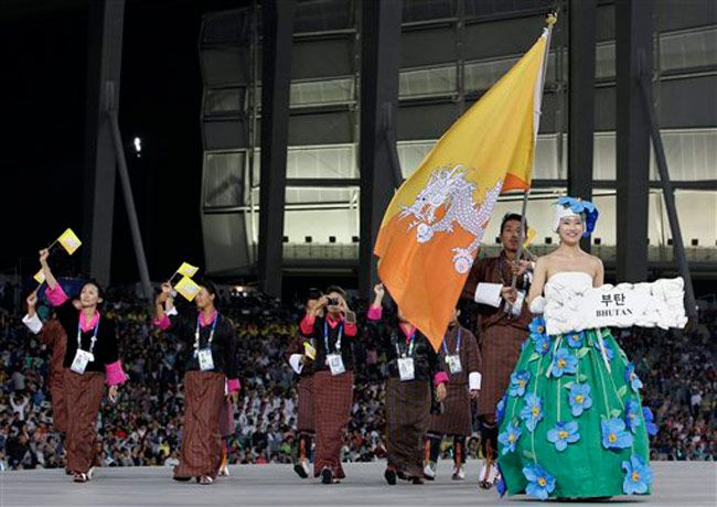 Opening ceremony of Asian Games 2014