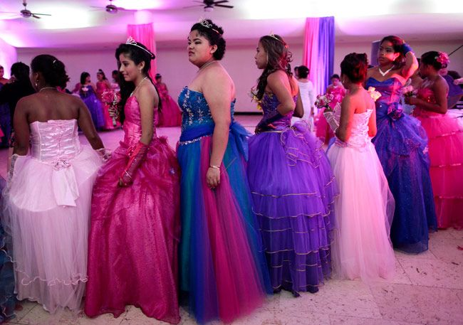 Cancer patients celebrate quinceanera