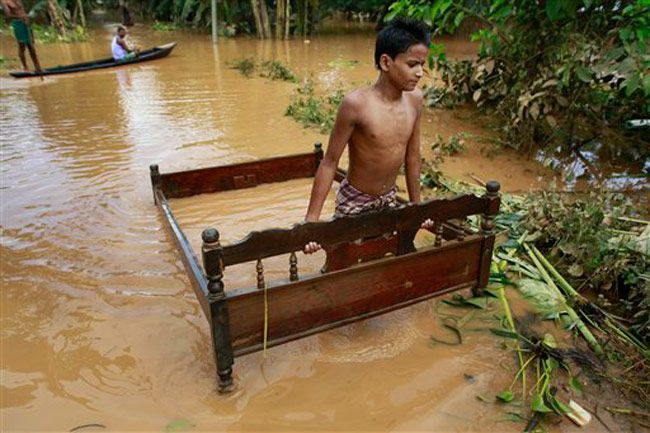 Floods in northeast India