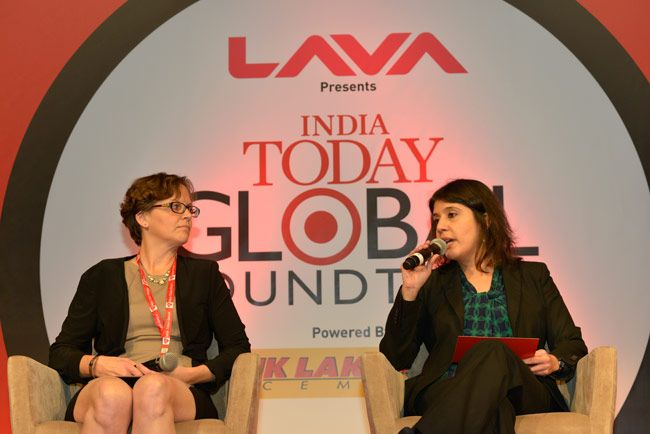 Lisa Curtis at India Today Global Roundtable