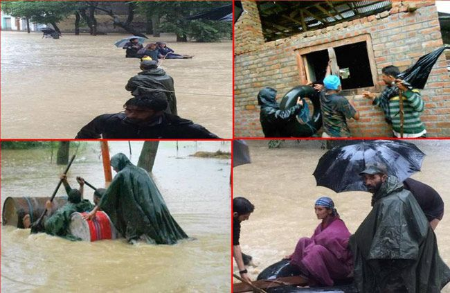 Rescue operations in Jammu and Kashmir