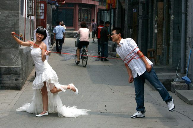 Funny, bizarre and unique marriages