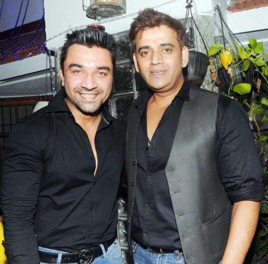 Ajaz Khan and Ravi Kishan