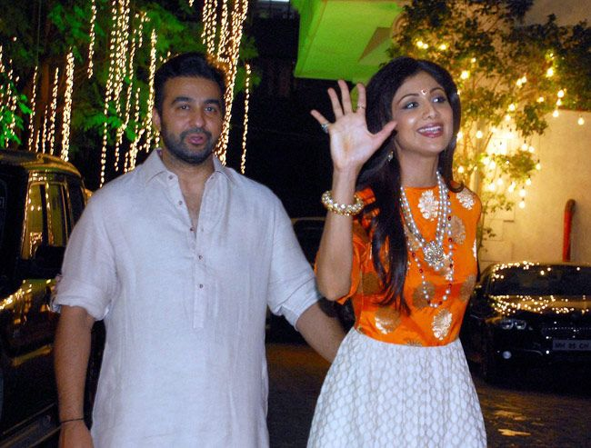 Diwali celebrations, Shilpa Shetty, Raj Kundra