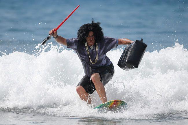 7th annual ZJ Boarding House Haunted Heats Halloween surf contest