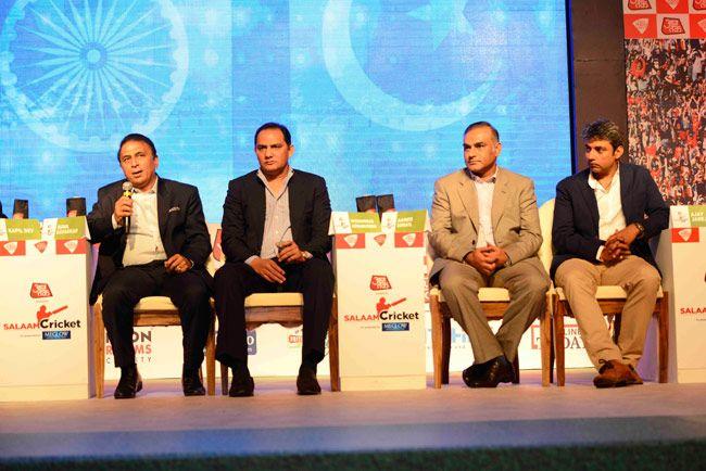 Sunil Gavaskar, Mohammad Azharuddin, Ajay Jadeja, Aamer Sohail