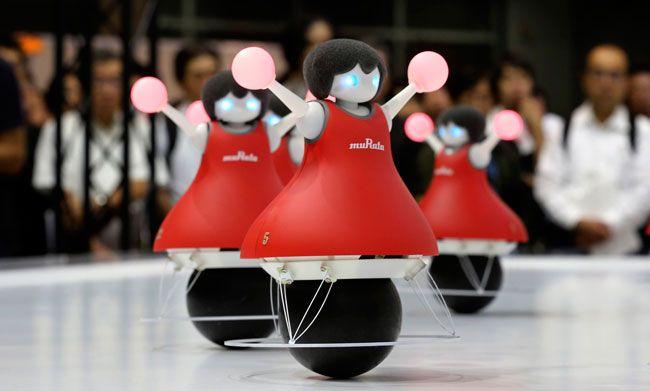 Unique CEATEC robots