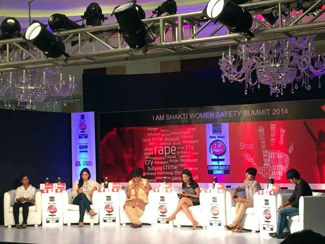 Asiad medallist Trisha Deb, shooter and Asiad medallist Shagun Chowdhary, social activist Kiran Bedi, wrestlers Vinesh Phogat and Babita Kumari
