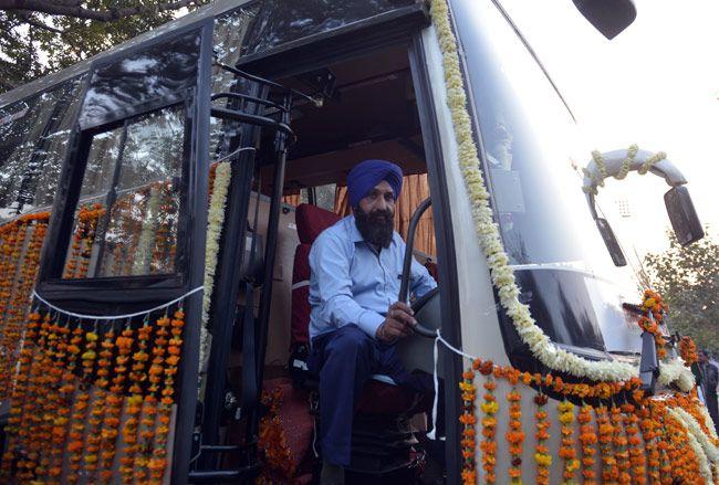 India-Nepal bus service