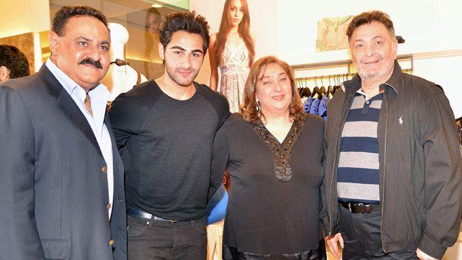 Manoj Jain, Armaan Jain, Rima Jain, Rishi Kapoor