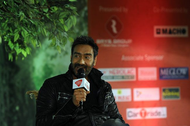 Actor Ajay Devgn at Agenda Aaj Tak 2014