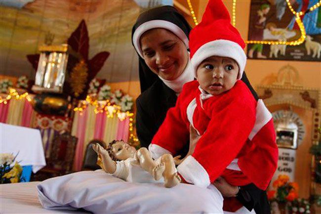 India celebrates Christmas