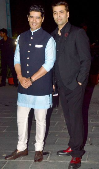 Manish Malhotra, Karan Johar